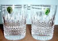 Waterford Crystal Lismore Diamond Tumbler DOF Set of 2 Glasses 156729 New In Box