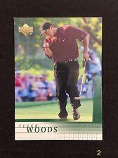 2001 Tiger Woods Upper Deck Rookie Card #1