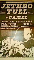 Jethro Tull. Pòster Premsa. Barcelona 1982