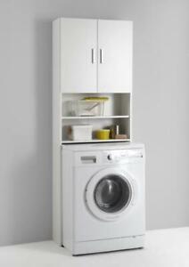 Olbia Waschmaschinen-Überbau Weiß