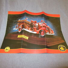 206C Dépliant 27 X 20 Franklin Mint Ford Fire Engine 1938