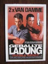 Filmplakatkarte / moviepostercard  Geballte Ladung - Double Impact