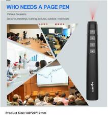 USB Wireless Presenter Remote Control Projection Pointer PPT Pen Teaching Pen