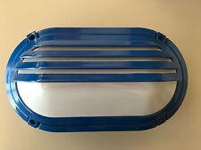 Plafón exterior aluminio azul