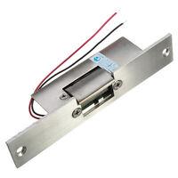 Electric Power Door Strike Lock Access Control Fail Safe NO Narrow-type 12V DC