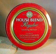 Douwe Egberts House Blend Reg. Smoking Mixture Tobacco Tin, Holland/Netherlands