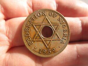1959 NIGERIA ONE1  PENNY