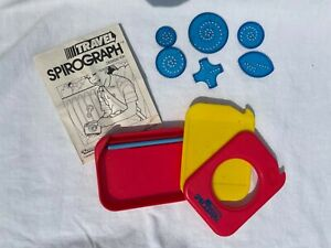 Vintage 1988 Kenner Travel Spirograph Toy No. 142000 Complete