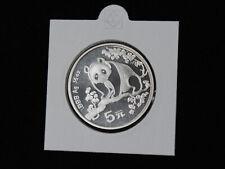 5 Yuan China Panda 1993 Silber 999 1/2 OZ