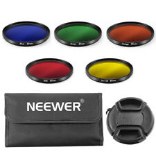 Neewer 67mm Complete Full Color Lens Filter Set for Canon and Nikon DSLR Camera