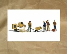NEW ~ Woodland Scenics CEMENT WORKERS People Figures ~ Mayhayred N Scale Lot