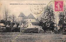 CPA 28250 SENONCHES le Vieux Château vue des Evès Edit VICENEUR ca1934