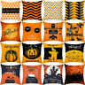Halloween Thanksgiving Pumpkin Cushion Cover throw pillows case sofa Home Bu