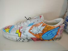 Converse UK 9 Sold Out Limited Edition Hand Painted Sneakers Unisex US Men 10