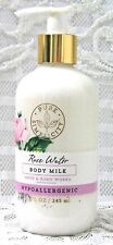 Bath & and Body Works Pure Simplicity ~ ROSE WATER ~ Body Milk / Lotion 8.3 oz.
