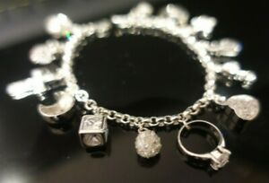 (BRAND NEW) Luxury Life Charm Bracelet - £450 - Solid Sterling Silver