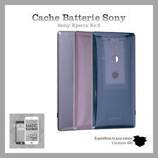 Vitre arriere cache batterie pour Sony Xperia XZ2 Adhesif et Logo