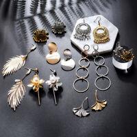 Fashion Women Vintage Drop Dangle Pearl Tassel Ear Stud Hook Earrings Jewelry