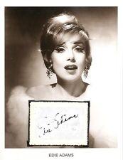 Edie Adams Autograph Miss US Hey Big Spender Fantasy Island The Love Boat