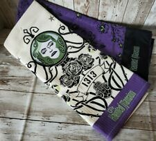 Disney Parks The Haunted Mansion Wallpaper/Madame Leota Dish Towel Set Nwt