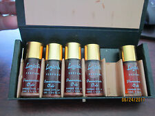 PERFUME KIT  salesman samples Demonstration only LUZIERS 5 BOTTLES in box case