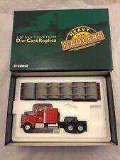 Corgi Diecast Heavy Haulers - Kenworth W925 Flatbed Trailer Lorry 55706