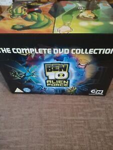 Ben 10 Alien Force - Box Set (DVD, 2010, 9-Disc Set, Box Set)
