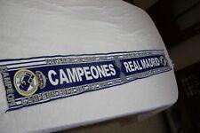 BUFANDA DEL REAL MADRID COMO CAMPEON DE LA COPA DEL REY DE 2010 Y 2011   SCARF