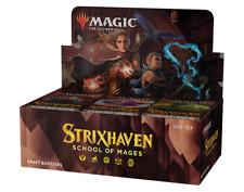 MTG Magic The Gathering Strixhaven borrador Booster Box | 36 paquetes de sellado de fábrica