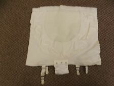 Rare Vtg 60s NEW Rubber Wear 2 Ways Open Bottom Garters Girdle Panties XL 31/32