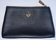 Michael Kors - Travel Pouch Cosmetic Makeup Bag - Black - Classic Circle Logo