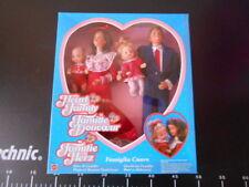 HEART FAMILY Kiss Cuddle Gift Set rare Caucasian  Mattel BARBIE Famiglia cuore