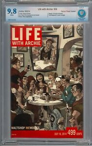 Life With Archie  36  CBCS 9.8  Perez Variant