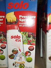 SOLO HAND HELD PRESSURE SPRAYER MODEL 454 1.5 GALLON NEW IN BOX RELIEF VALVE