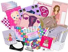 Baby Shower Party Games/10 Games Pack/Rosa/GIRL - 20 giocatori