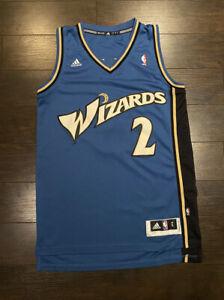 John Wall 2010-11 Washington Wizards Jersey ADIDAS Mens Small Rookie Year Sewn