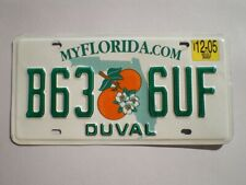 AUTHENTIC 2008 FLORIDA LICENSE PLATE