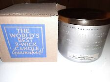 Brand New Bath and Body Works Scented 14.5 oz 3-Wick Candle Fiji White Sands