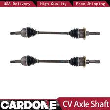 2X Rear Left Right CV Axle Shaft Cardone For 1997 FORD THUNDERBIRD(4-Wheel ABS)