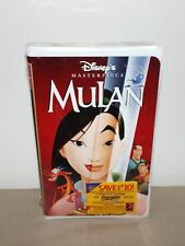 WALT DISNEY MASTERPIECE COLLECTION MULAN VHS TAPE MOVIE BRAND NEW ~ SEALED MINT