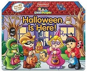 Fisher Price Little People Halloween Is Here! Board Books Reader'