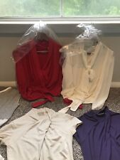 Lot of 15 Dress Blouses Tops NY&C A Taylor Express Forever 21 Free People XS -M