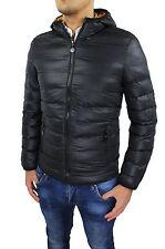 Down Jacket Men's Jacket Black Slim Fit Super Tight Bomber Jacket
