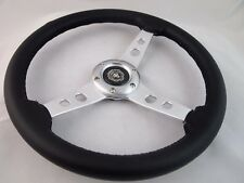 Steering Wheel with Adapter Silver for  RZR 570 800 900 1000