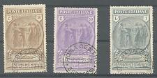 1923 PRO CASSA DI PREVIDENZA DELLE CAMICIE NERE - COMPLETA 3 VALORI