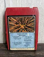 Vintage Super Hits 1973 8 Track Tape