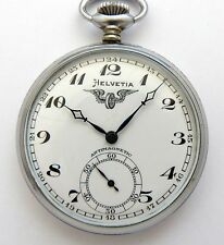 Helvetia Swiss Made Pocket Watch