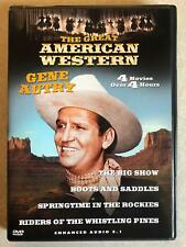 The Great American Western - Gene Autry The Big Show, Bo.. (DVD, 4-film) - E0527