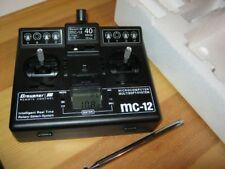 Graupner Sender MC 12 im 40 Mhz- Band FM SSS mit  Akku   neu !!!!!