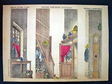 Pellerin Imagerie D'Epinal-Grand Theatre Nouveau No 1643 Rustic Kitchen Inv1759
